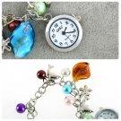 Kiss Ocean- dolphin Alloy Charming Quartz Bracelet Bangle Wrist Watch Women HC