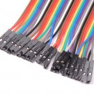 40PCS Jumper Wire Cable 1P-1P 2.54mm 20cm For Arduino Breadboard Sale New hc