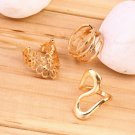 Luxury Mixed 7pcs Women's Metal Finger Stacking Rings Set Finger Ring HC
