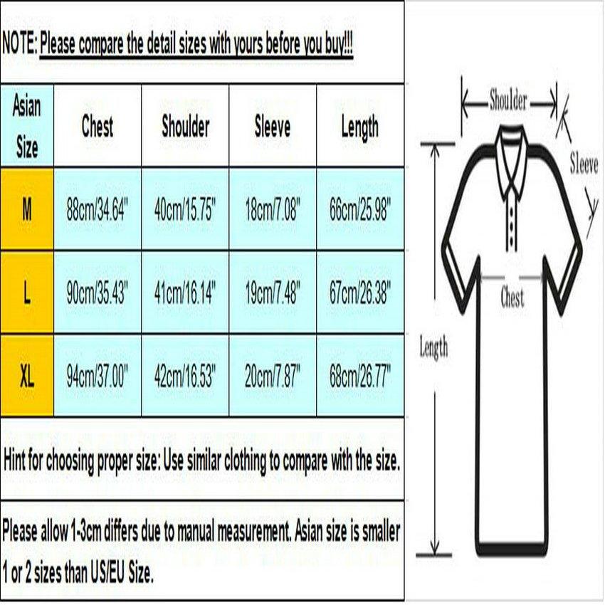Fashion Mens Slim Fit Casual Polo Shirt T-Shirt Short Sleeve Tees Tops HC