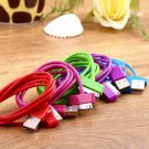 USB Charger Sync Data Cable for iPad2 3 iPhone 4 4S 3G 3GS iPod Nano Touch HC