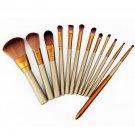 12Pcs Makeup Tools  Cosmetic Eyeshadow Foundation Concealer Brushes Set HC