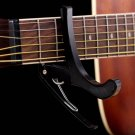 New Acoustic Electric Tune Quick Change Trigger Guitar Capo Key Clamp Black HC