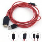 MHL Micro USB to HDMI Cable with 11 pin for Samsung Galaxy S1-4 Note1-4 HC