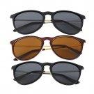Unisex Womens Mens Retro Vintage Cat Eye Round Glasses Metal Frame Sunglasses HC