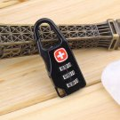 Alloy Cross Combination Lock Code Number for Luggage Bag Drawer Cabinet HC