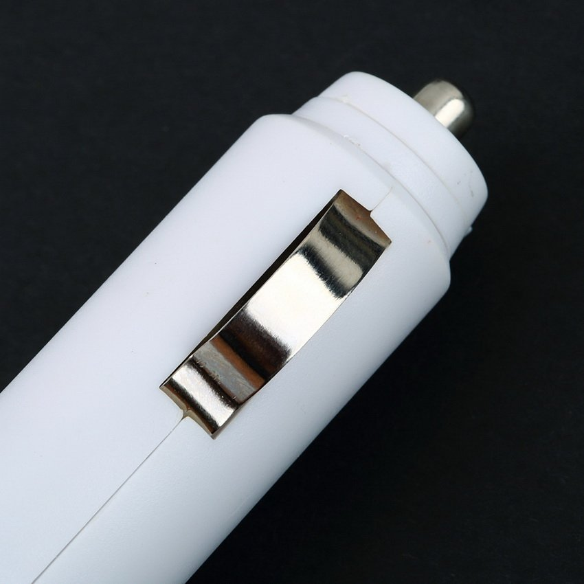 USB Car Cigarette Plug Adapter Charger for MP3 PDA iPhone4 4S iPod Touch Nano HC