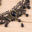Gothic Simple Fashion Lace Necklaces Pendants Royal Rope Choker Necklace HC