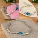Fashion Design Women Crystal Rhinestone Bracelet Bangle Charming Jewelry HC