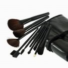 32pcs Professional Soft Cosmetic Eyebrow Shadow Makeup Brush  Kit + Pouch Bag HC