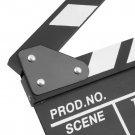 Director Video Scene Clapperboard TV Movie Clapper Board Film Slate Cut Prop HC