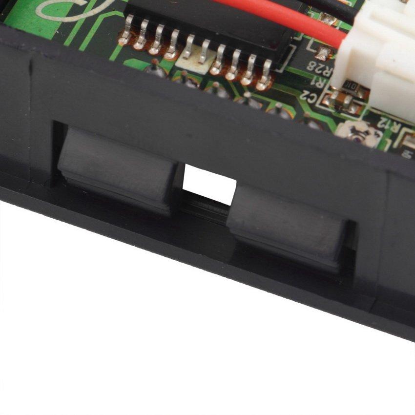 New Mini Digital Voltmeter 3.3-30V Red LED Vehicles Motor Voltage Panel Meter HC