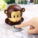 New Cute Monkey Hand Nail Art Tips Polish Dryer Blower Manicure HC