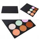 6 Colors Face Cream Makeup Palette Salon Party Contour Professional Concealer HC