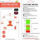 LED Display Cigarette Lighter Electric Voltage Meter For Auto Car Battery HC