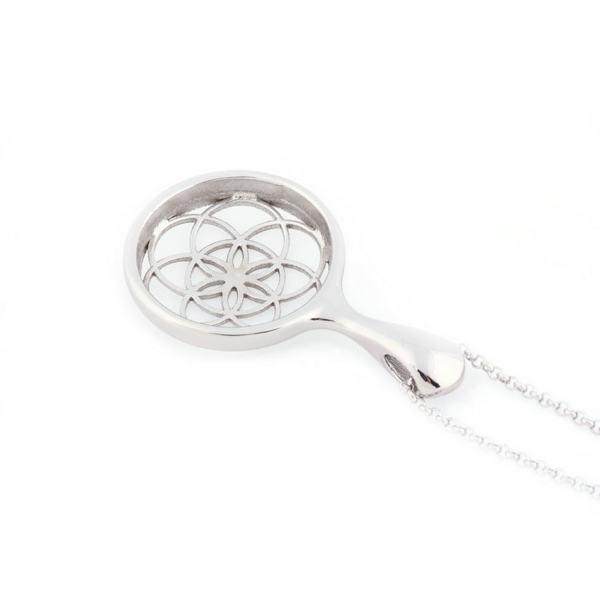 Stainless Steel Pendant Necklace For Misfit Shine Sleep Fitness Monitor HC