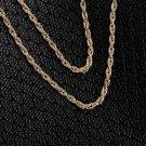 Vintage Elephant Rhinestone Pendant Turquoise Bronze Necklace Sweater Chain HC