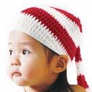 Baby Girl Boy Christmas Xmas Crochet Knit Photo Photography Prop Hat Cap HC