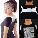 Adjustable Therapy Back Support Brace Belt Band Posture Shoulder Corrector HC