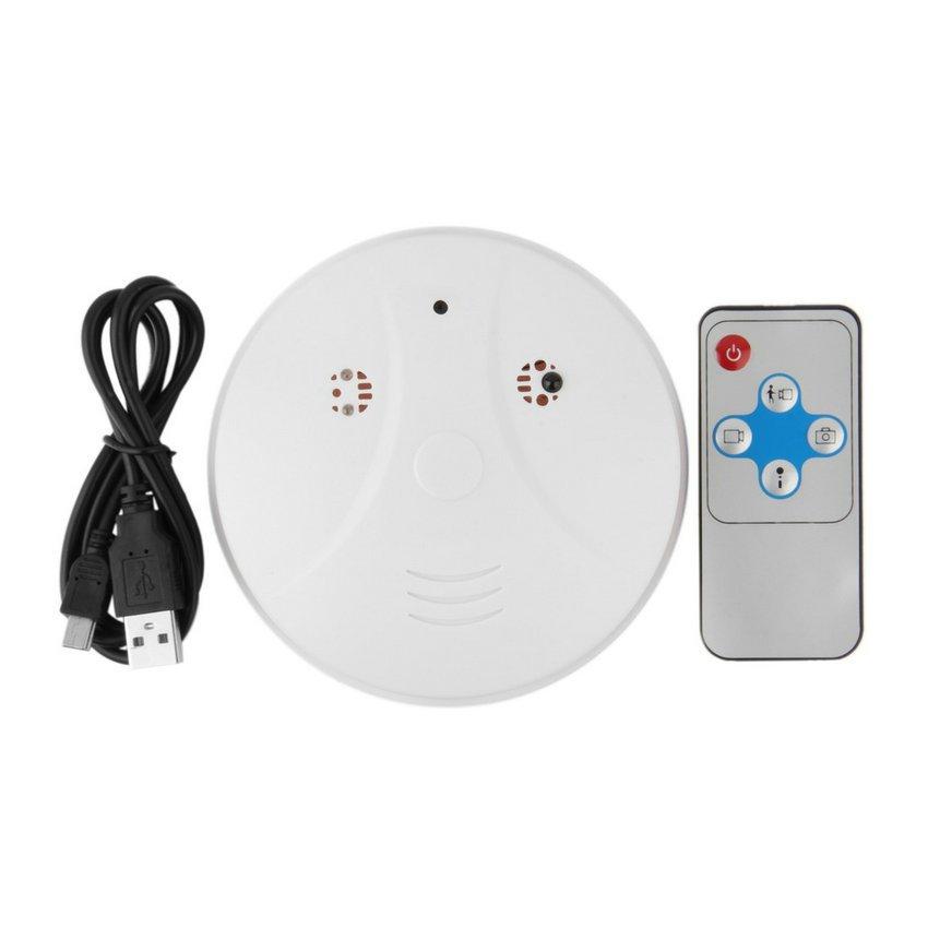 Smoke Detector Security DVR Remote Hidden HD Camera Motion Detection Nanny HC