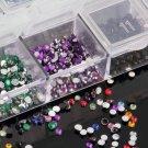 Mix Color Teardrop Nail Art Gems Rhinestones Glitters Beautiful Decoration HC