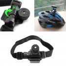 Bike Helmet Mount Bicycle Holder for Mobius ActionCam Sports Camera Video DVR HC