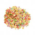 1000Pcs DIY Fruit Fimo Polymer Clay Slices Nail Art Sticker Tip Decorations HC