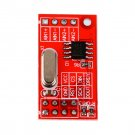 Dual 16-bit ADC Data Acquisition Module SPI Compatible AD7705 Module Board HC