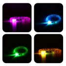 Blinking LED Flash Bracelet Bangle Colorflu Color Changing Party Club Stage HC
