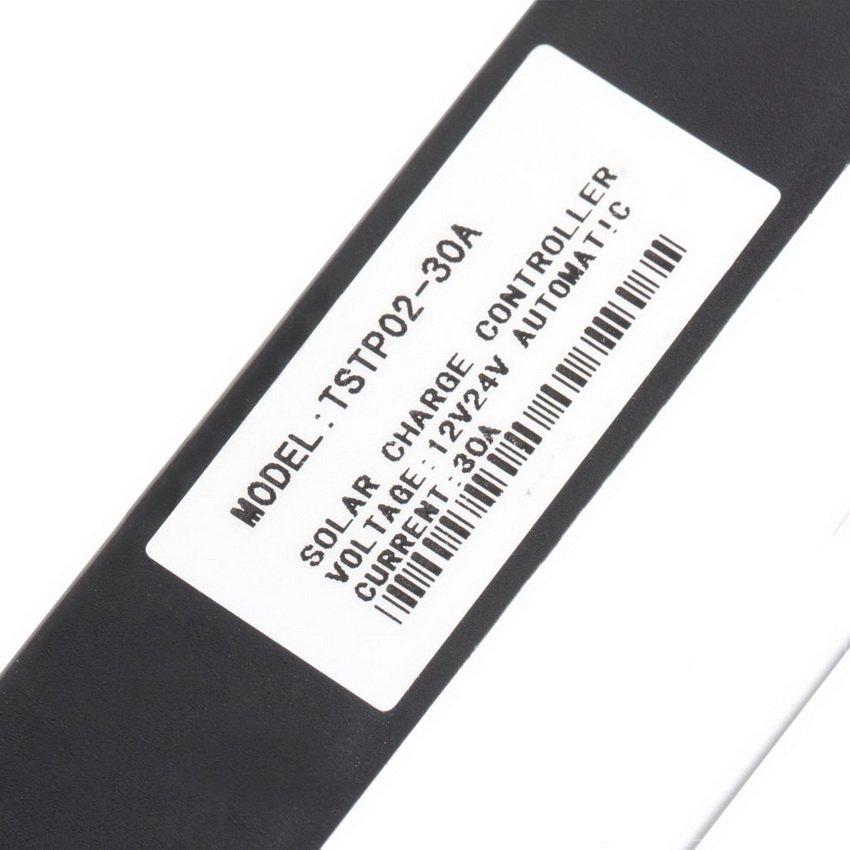 30A 12V/24V PWM Solar Panel Battery Regulator Charge Controller LED Screen HC