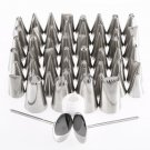 Pastry Fondant Cake Decorating Sugar Craft Piping 52 x Icing Nozzle Tips Set HC