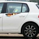 Car Sticker 3D Eyes Peeking Monster Voyeur Car Hoods Trunk Thriller Decal (HC)