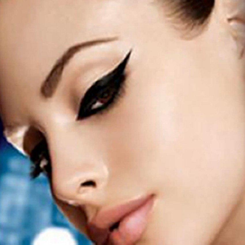 4 Styles Temporary Instant Tattoo Eye Transfer Eyeshadow Eyeliner Sticker HC