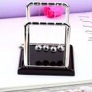 Newton Cradle Fun Steel Balance Ball Physics Science Desk Toy Accessory Gift HC