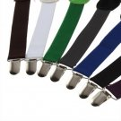 Adjustable Brace Clip-on Unisex Pants Elastic Adult Child Y-back Suspender-Y HC