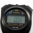 Digital Chronograph Sports Stopwatch Counter with Strap HC