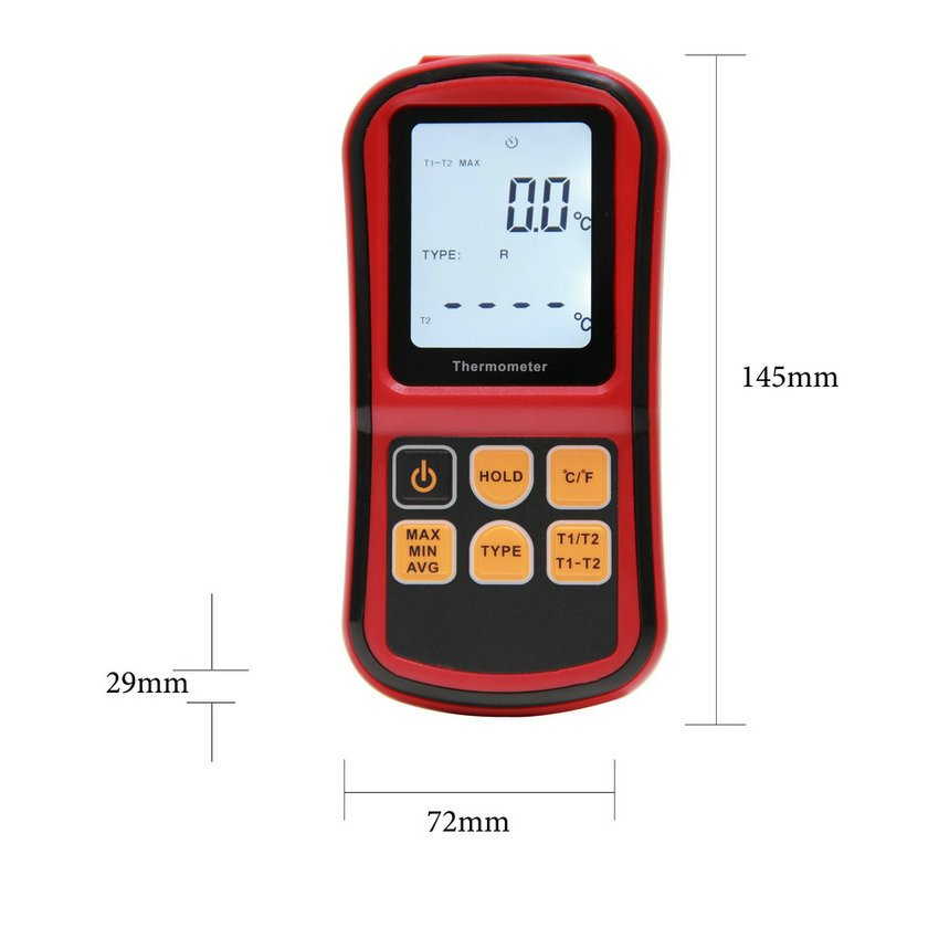 Digital Thermometer Thermocouple Thermometer Sensor In Temperature Measuring HC