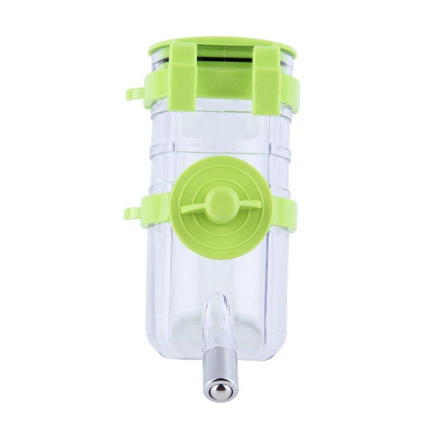 No Drip Dog Top-Fill Water Bottle Drinker Pet Water Dispenser Water Feeder HC