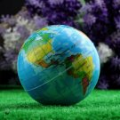 World Map Foam Earth Globe Stress Relief Bouncy Ball Atlas Geography Toy HC