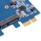 PCI-E PCIe to mSATA SSD+SATA3.0 Combo Extender Adapter PCI-E toSATAIII Card HC