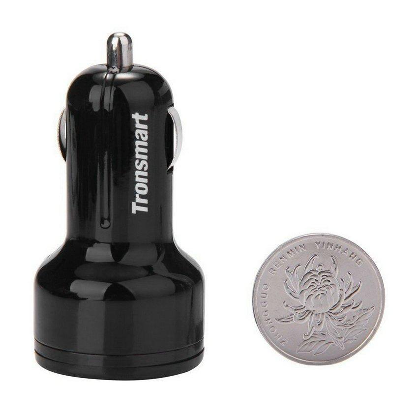 Tronsmart? Quick Charge 2.0 30W Dual Ports USB Car Charger Qualcomm Tech HC