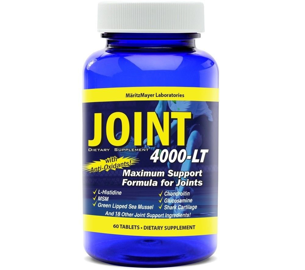 Glucosamine Chondroitin MSM Joint 4000-LT Pain Relief 60 Tabs