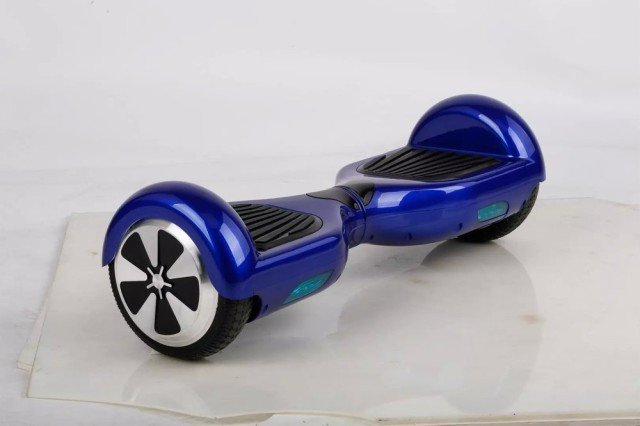 Self-Balancing Two Wheel Electric  Hover Board Scooter blue color
