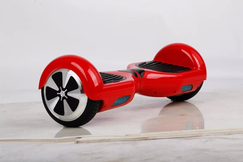Self-Balancing Two Wheel Electric  Hover Board Scooter red color