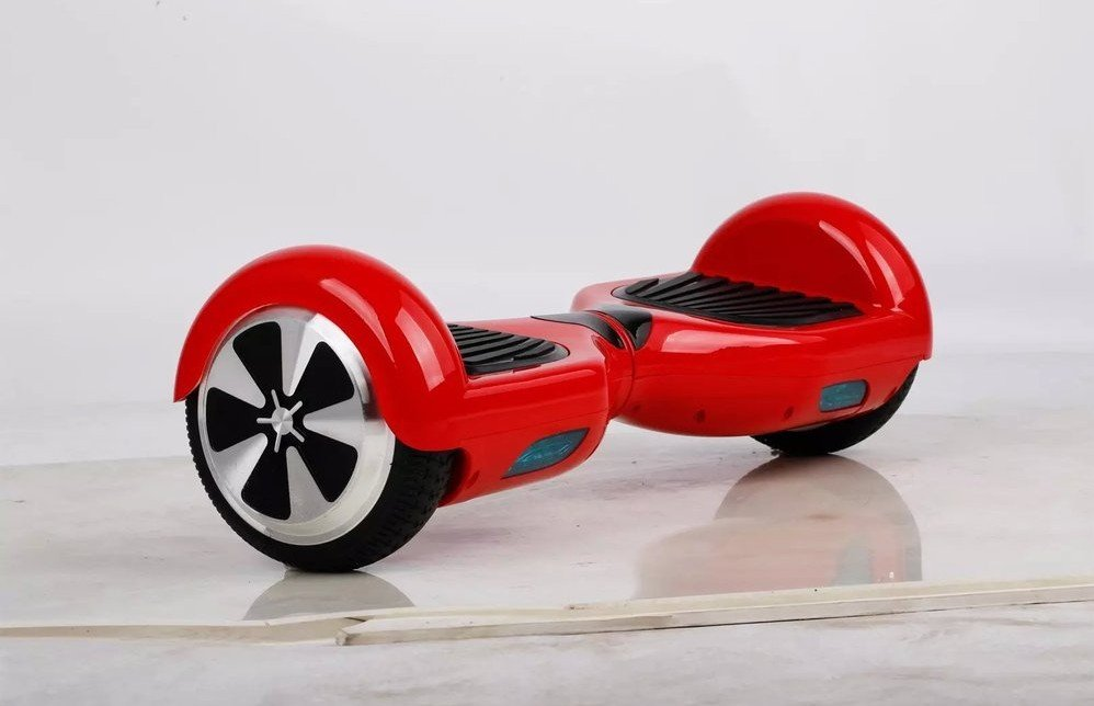 """Self Balancing Scooter 2-wheel Electric Hoverboard 6.5"""" -Red"""