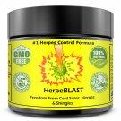 Herpes Treatment Cream Lips Genital HSV1 HSV2 HerpeBLAST