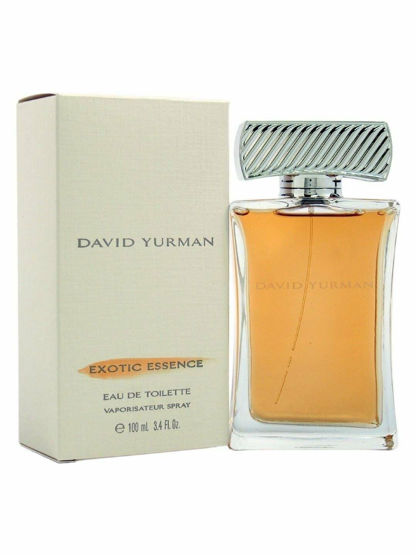 EXOTIC ESSENCE David Yurman perfume edt 3.4 oz 3.3 NEW IN BOX