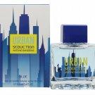 Urban Seduction Blue by Antonio Banderas 3.4 oz 3.3 for Men edt New In Box
