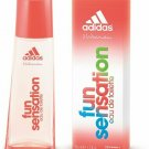 Fun Sensation by Adidas for women EDT 1.6 / 1.7 oz New in Box
