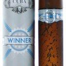 Cuba Winner By Cuba cologne for men EDT 3.3 / 3.4 oz New in Box